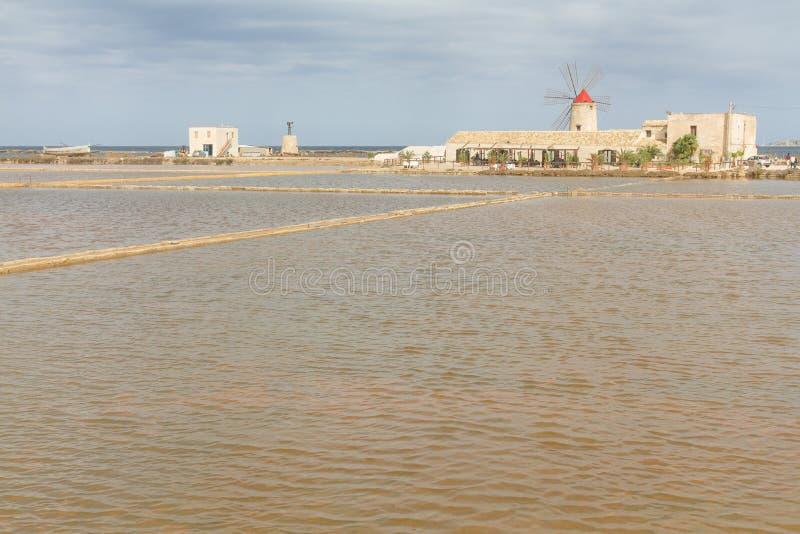 Музей соли и соленое болото в Нубии стоковое фото rf