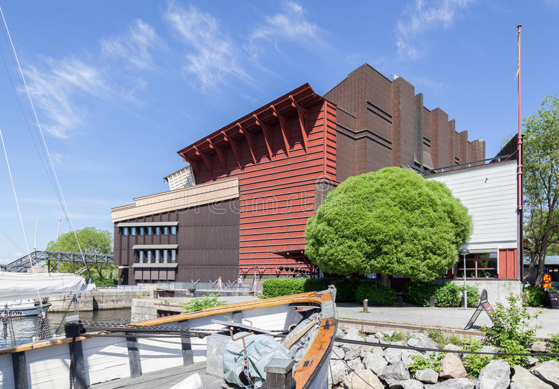 Музей Стокгольм Швеция Vasa стоковые изображения rf