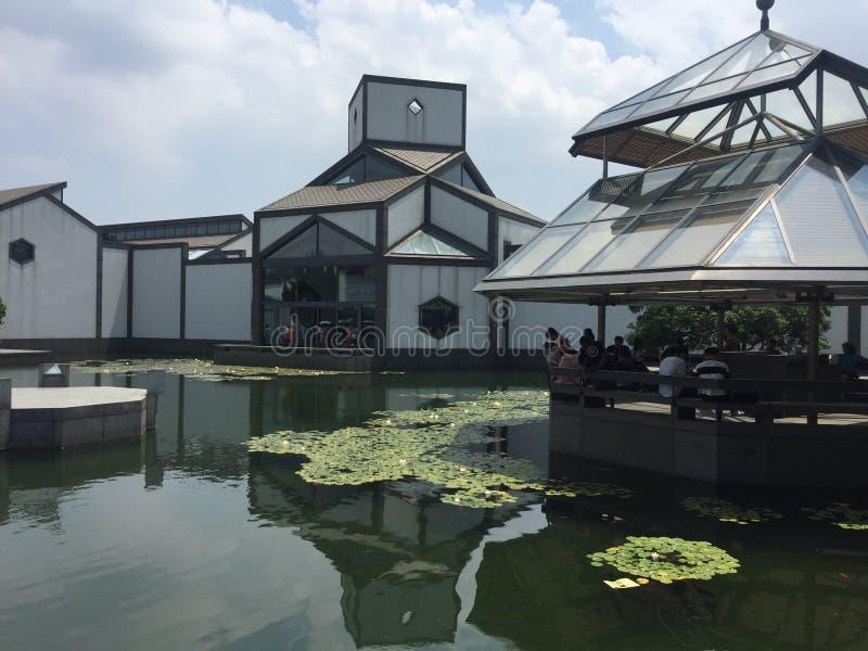 Музей Сучжоу стоковое изображение