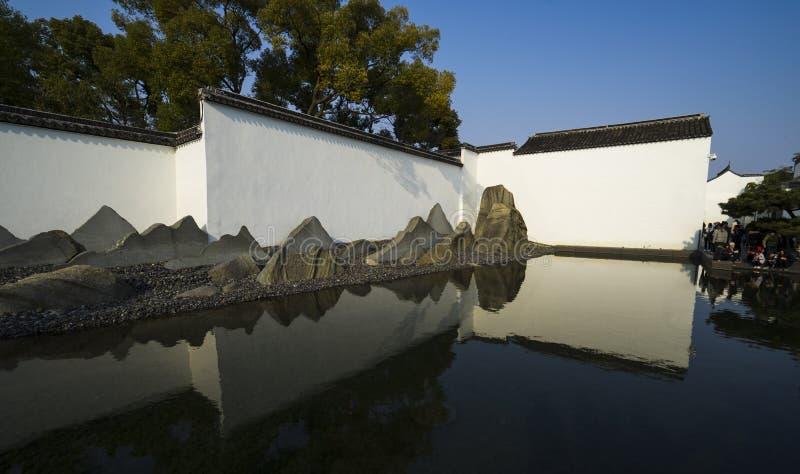 Музей Сучжоу стоковая фотография
