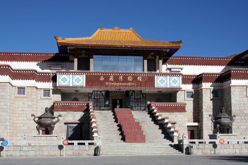 музей Тибет стоковые изображения