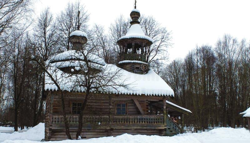музей Украина lviv зодчества деревянная стоковое изображение rf