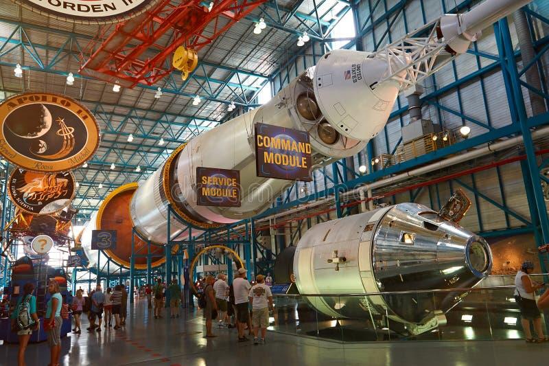 Музей центра NASA стоковое изображение
