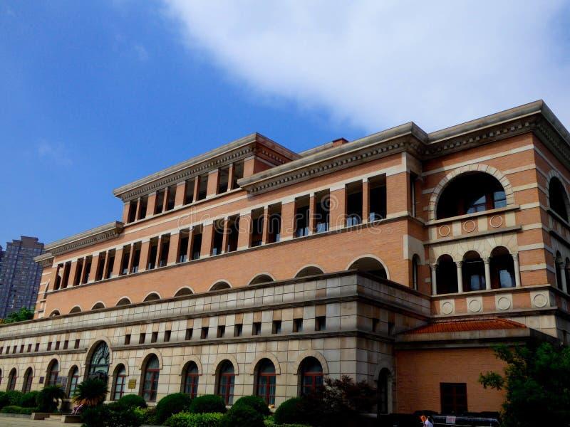Музей Шанхая железнодорожный стоковые фотографии rf