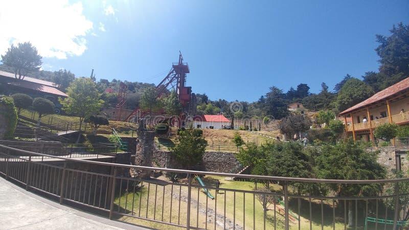 Музей шахты стоковые фото
