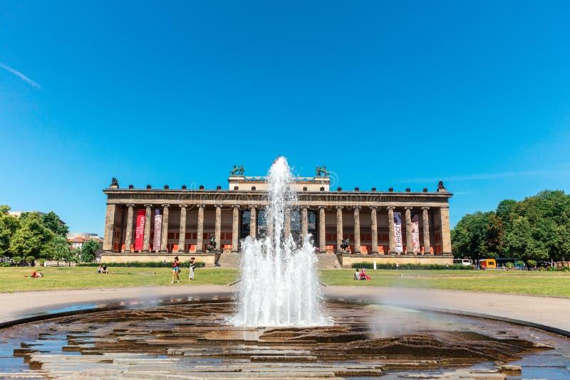 Музей Altes в Берлине стоковые изображения