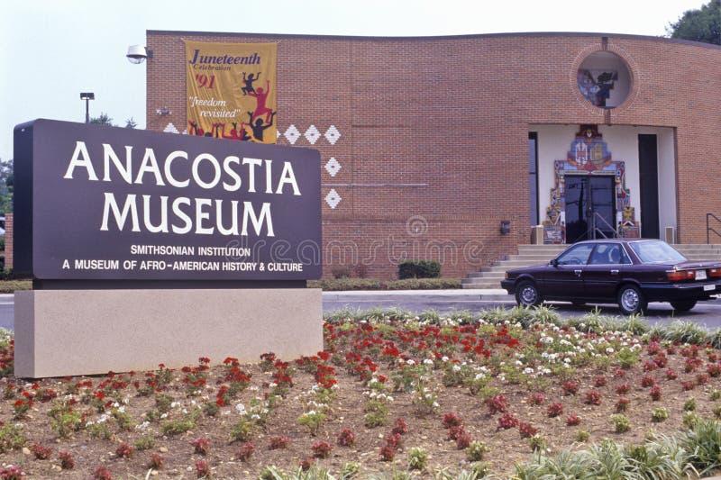Музей Anacostia, музей Афро-американской истории и культура, смитсоновское заведение, Вашингтон, DC стоковое фото rf