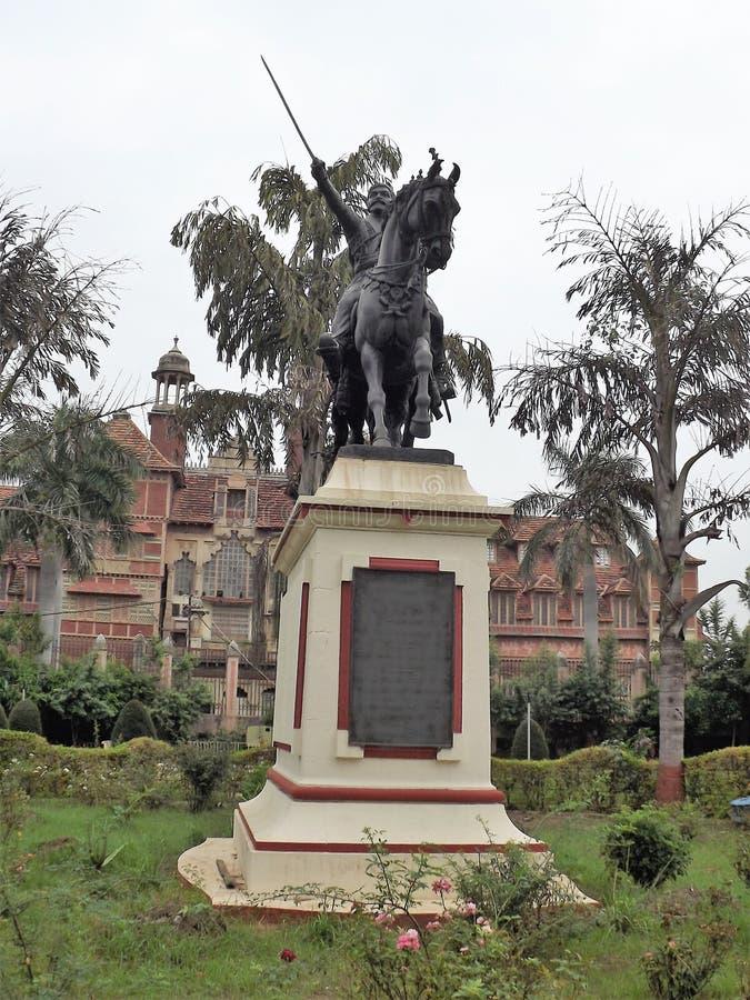 Музей Baroda, Vadodara, Индия стоковые фотографии rf