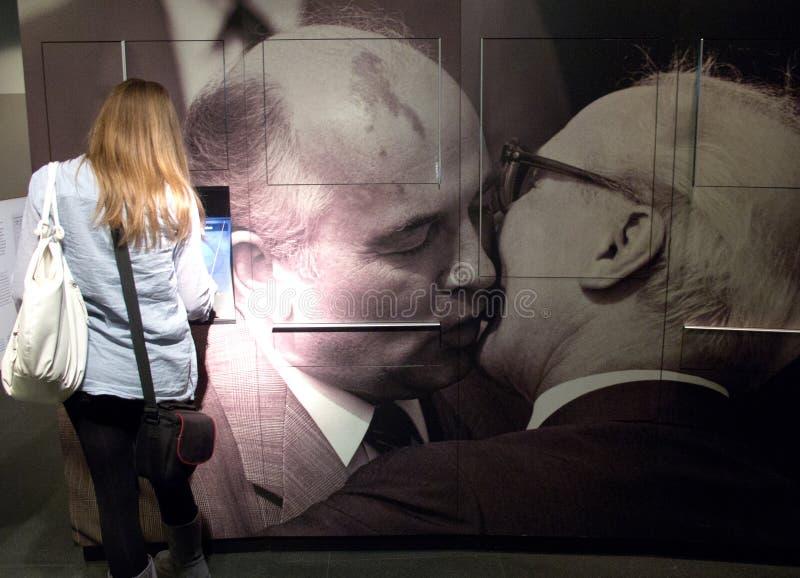 музей berlin ГДР стоковое фото rf