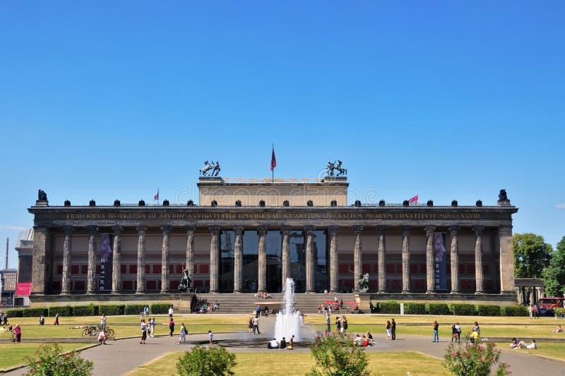 музей berlin Германии altes старый стоковые изображения