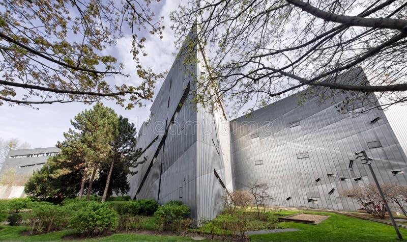 музей berlin еврейский стоковые фото