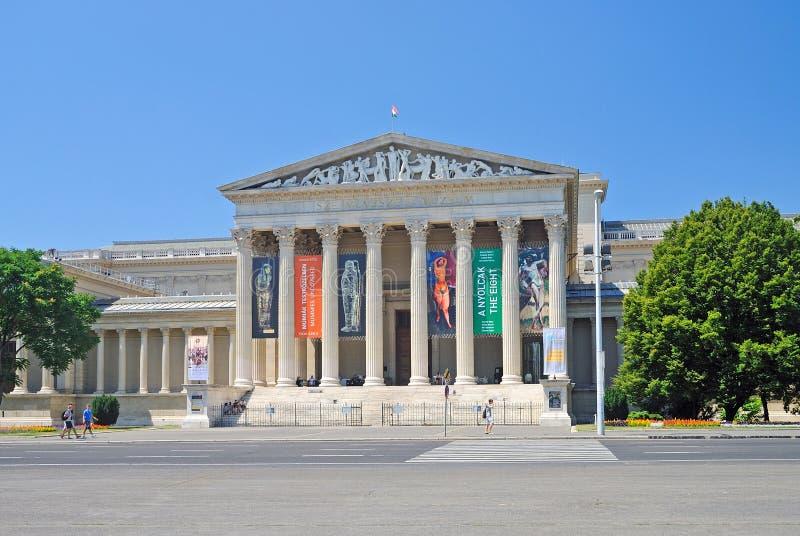 музей budapest искусств точный стоковая фотография