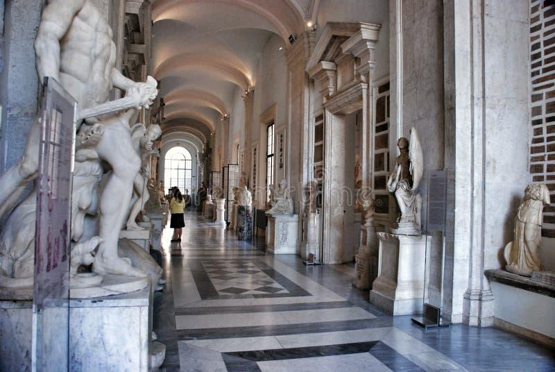 Музей Capitolini, Рим Италия стоковые фотографии rf