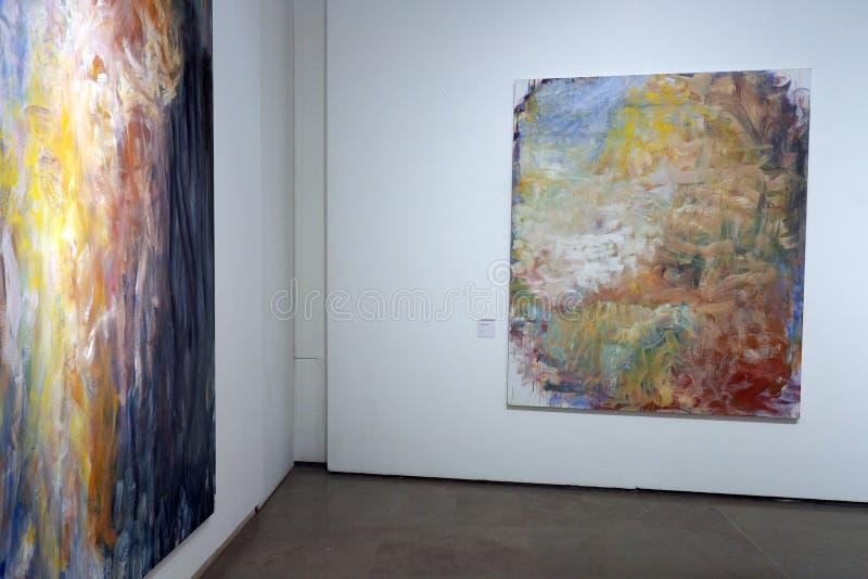 Музей Carlo Bilotti для современного искусства в Риме, Италии стоковая фотография rf
