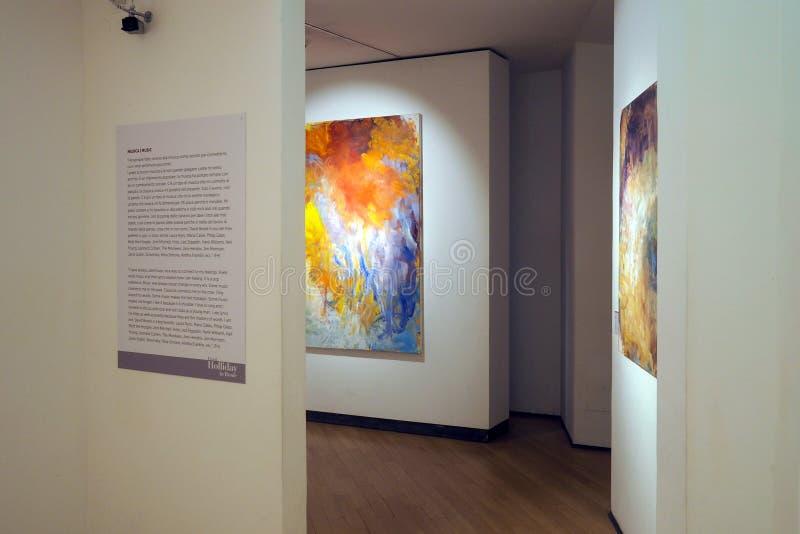 Музей Carlo Bilotti для современного искусства в Риме, Италии стоковое фото rf