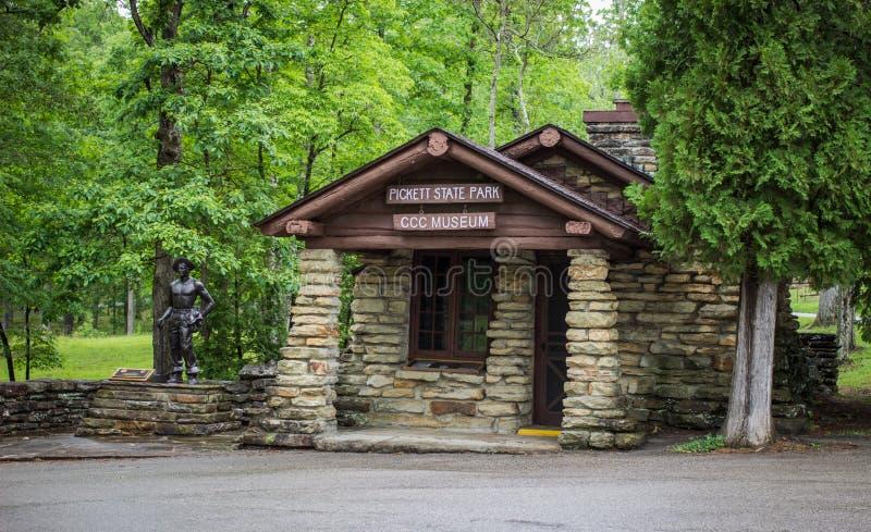 Музей CCC в Теннесси стоковое фото