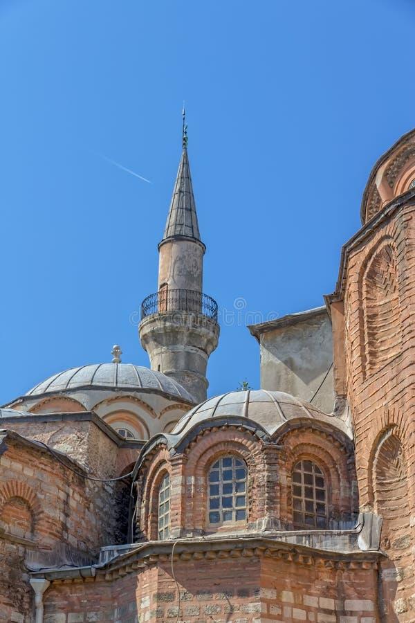 Музей Chora - церковь, Стамбул стоковые изображения rf