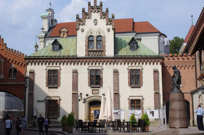 Музей Czartoryski в Польше стоковые фотографии rf
