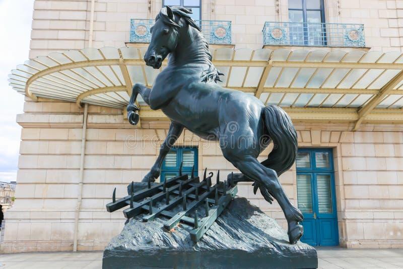Музей D'Orsay в Париже стоковое фото rf