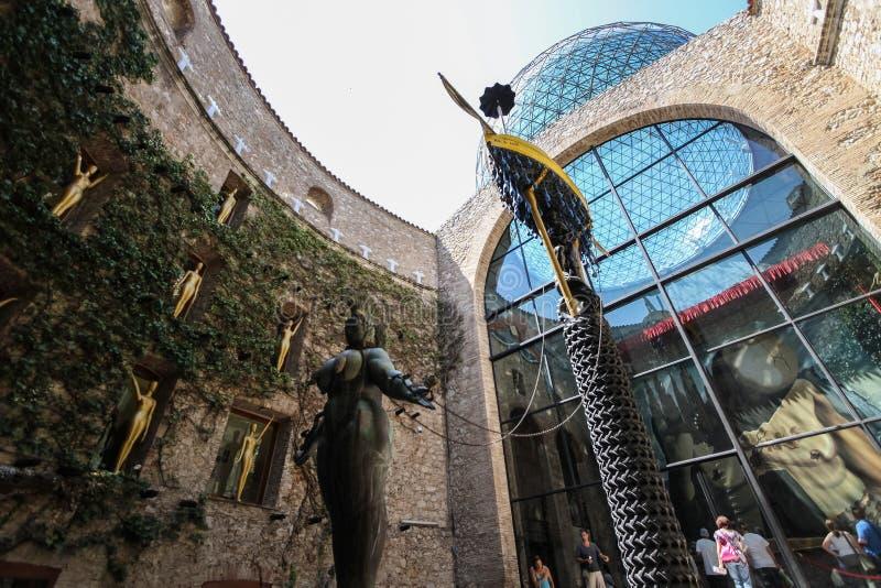 Музей Dali в Фигерасе, Испании стоковое фото rf
