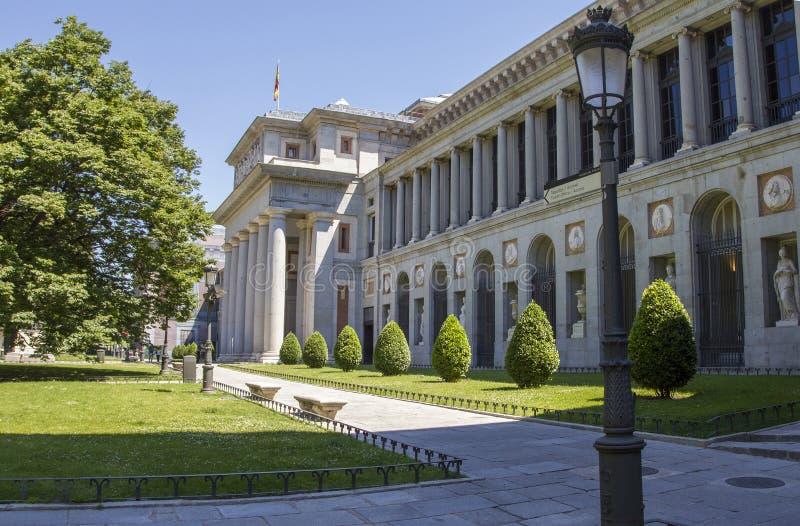 Музей El Prado стоковые изображения