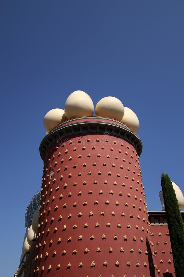 музей figueres dali стоковые изображения