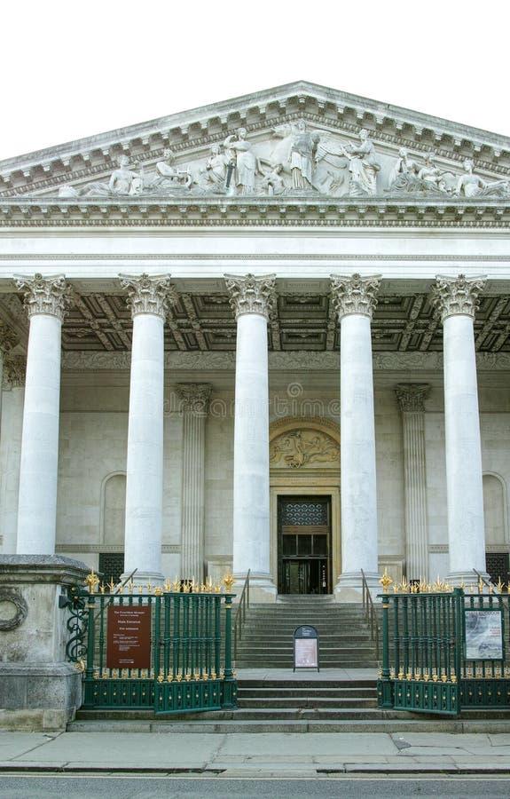 Музей Fitzwilliam, Кембриджский университет Англия стоковое изображение