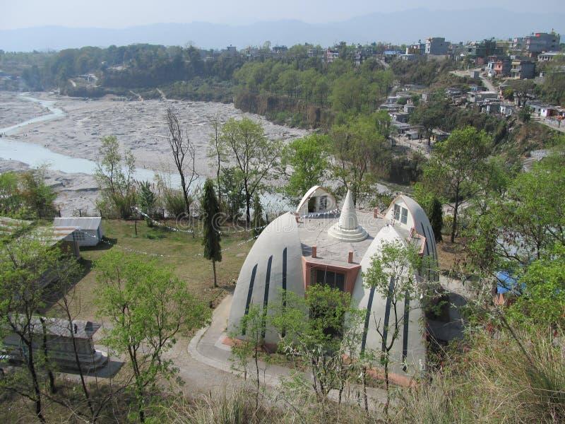 Музей Gurung, Pokhara, Непал стоковые фотографии rf