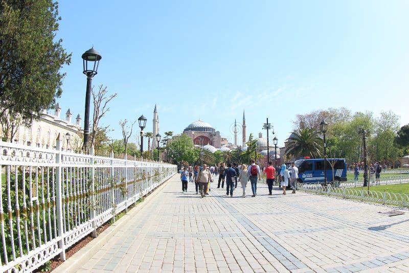 Музей Hagia Sophia, Турция стоковое фото rf