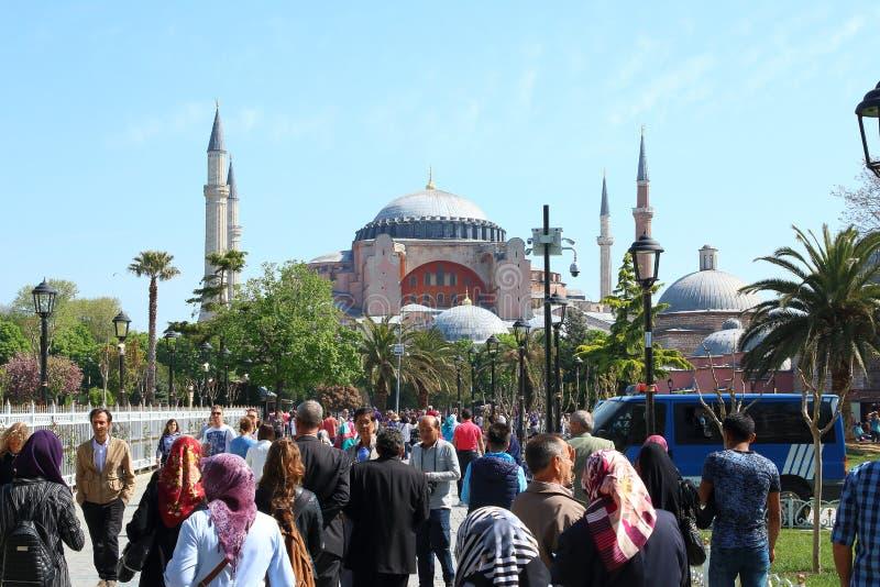 Музей Hagia Sophia, Турция стоковое фото