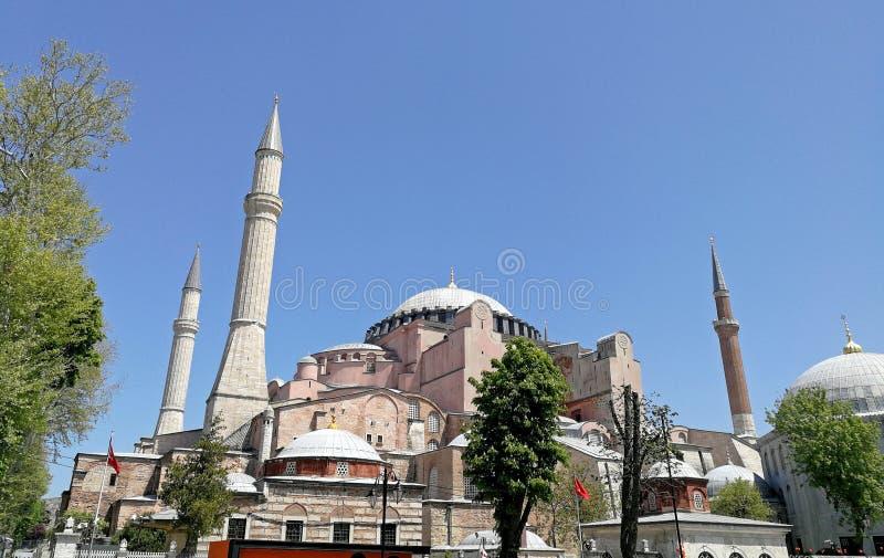 Музей Hagia Sophia стоковые изображения rf