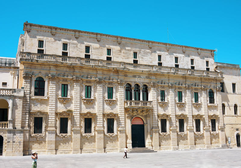 Музей Lecce Ватикана Diocesano стоковая фотография rf
