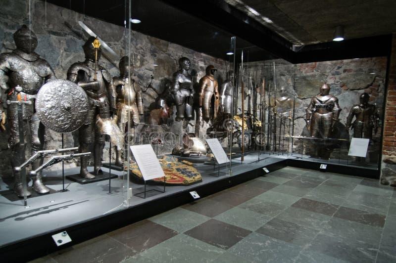 Музей Livrustkammaren вооружение стоковые изображения