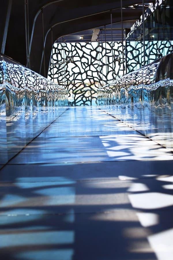 Музей Mucem в марселе стоковое изображение rf