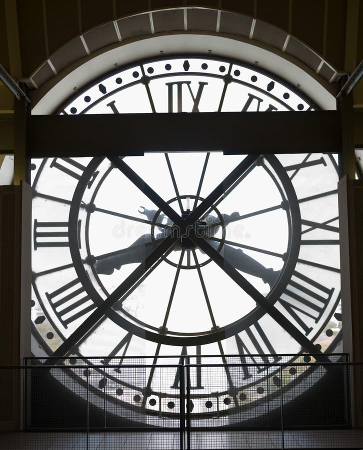 музей musee часов d orsay стоковое фото