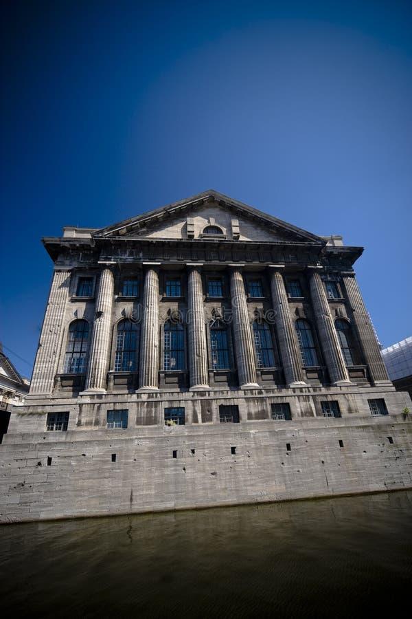 музей pergamon фасада стоковые фотографии rf