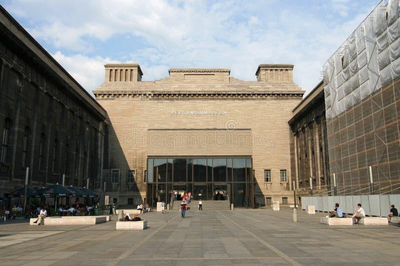 музей pergamon berlin стоковое изображение rf