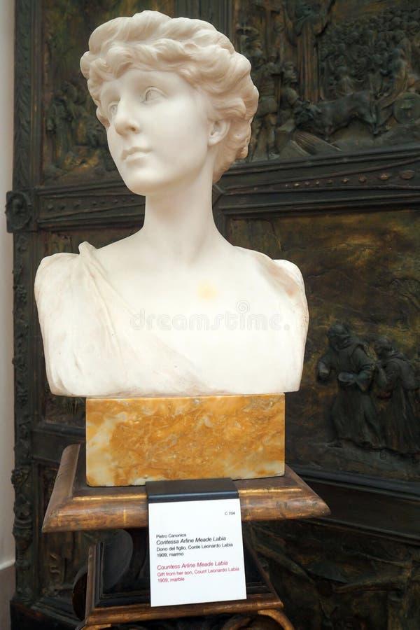 Музей Pietro Canonica в садах Borghese виллы в Риме, Италии стоковые изображения