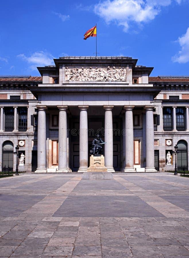Музей Prado, Мадрид, Испания. стоковые изображения rf