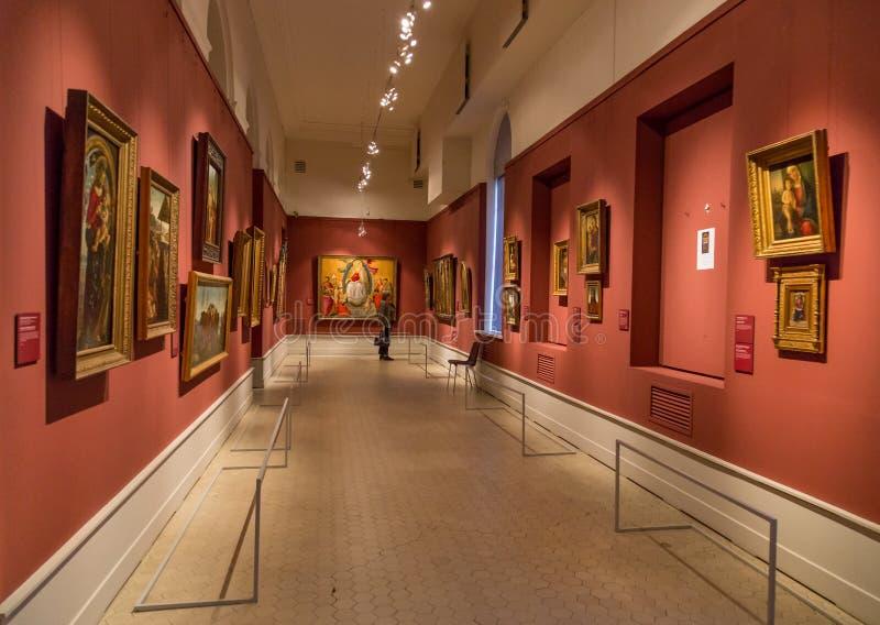 Музей Pushkin изящных искусств в Москве стоковое изображение