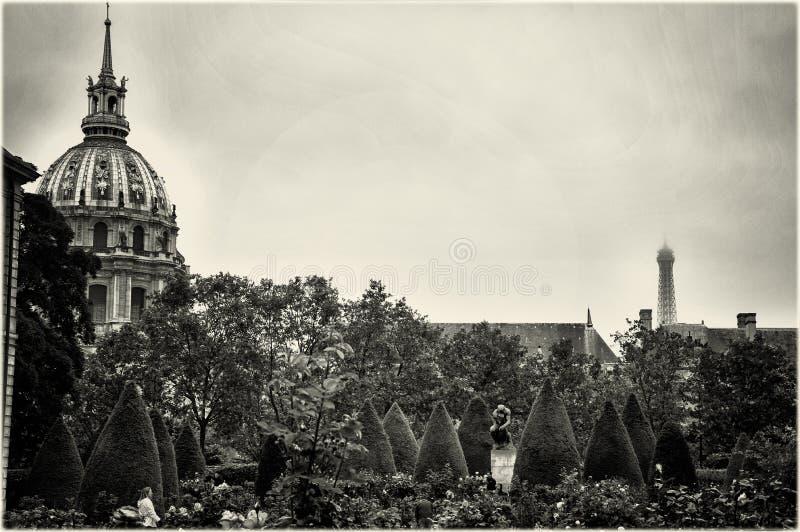 Музей Rodin, Париж стоковые изображения