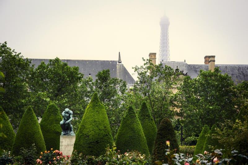Музей Rodin, Париж стоковое изображение