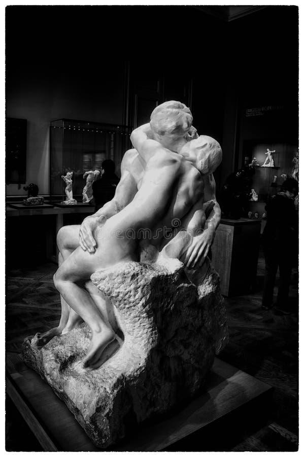 Музей Rodin paris стоковые фотографии rf