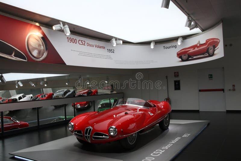 Музей Romeo альфы исторический - Arese MI Италия стоковая фотография rf