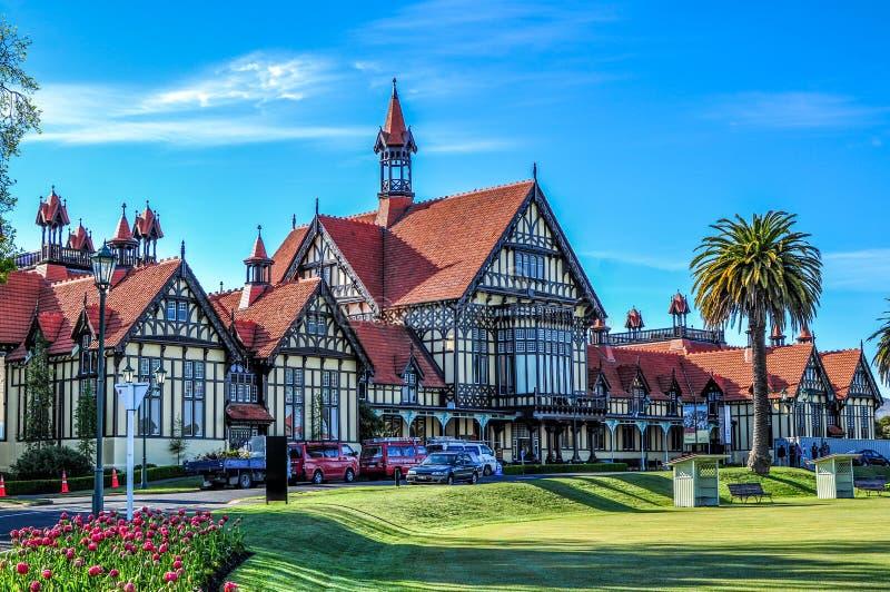 Музей Rotorua стоковое изображение