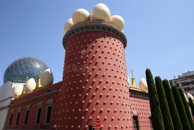 музей s Испания figueres dali стоковое изображение