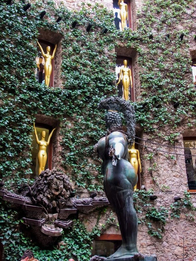 музей s Испания figueres dali стоковые фото
