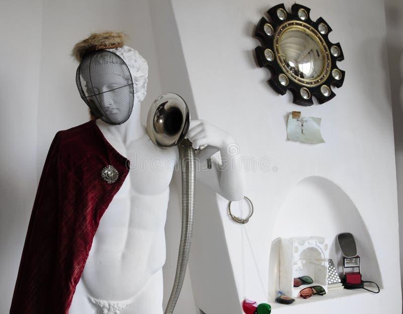 музей salvador Испания дома dali cadaques стоковые изображения rf