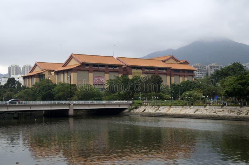 Музей Shatin наследия Гонконга стоковые изображения