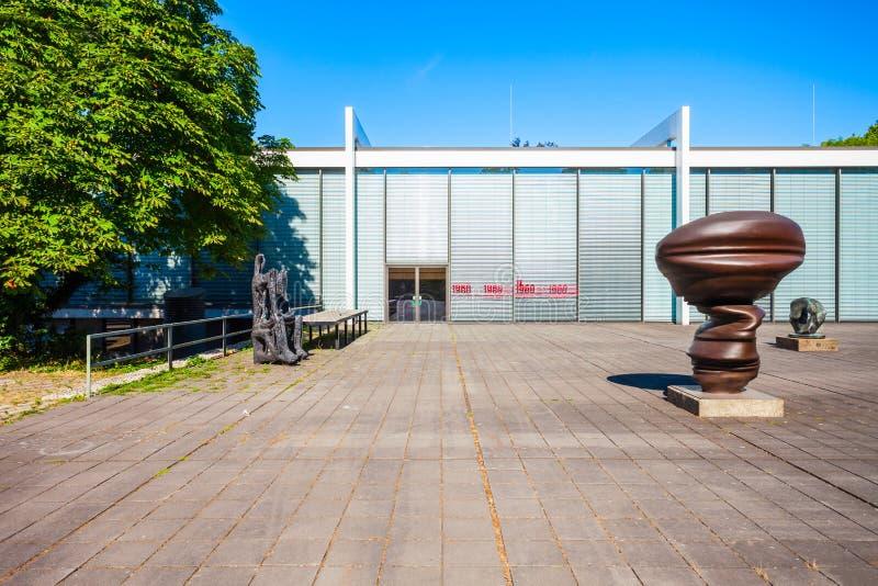 Музей Stiftung Wilhelm Lehmbruck, Дуйсбург стоковые изображения rf